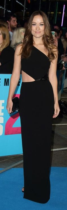 Olivia Wilde is gorgeous in cutout Michael Kors dress