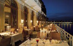 Grand Hotel Les Trois Rois - Basel, Switzerland : The Leading Hotels of the World Switzerland Hotels, Unique Restaurants, Leading Hotels, Restaurant Guide, Beautiful Hotels, Grand Hotel, Best Hotels, Luxury Hotels, Design