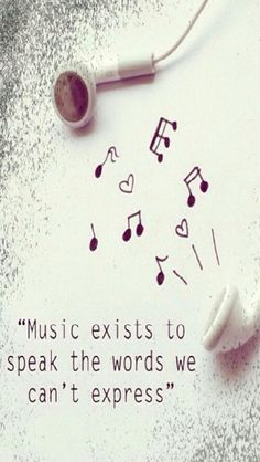 If you can't find the words, there will always be a song to explain how you feel