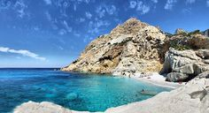 Greece is a place of stunning natural beauty. But most of all, it hosts some of the most beautiful beaches of the World. Let's see only few of them… >> Ikaria Greece, Corfu, Sailing Greece, Seychelles Beach, Pirate Island, Amazing Places On Earth, Places In Greece, Destinations, Exotic Beaches