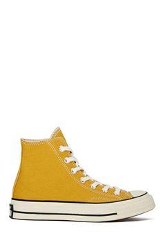 Converse All Star High-Top Sneaker - Sunflower