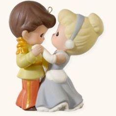 Amazon.com: Hallmark 2008 Cinderella and Her Prince Disney Precious Moments: Home & Kitchen