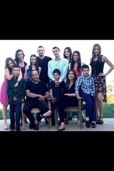 the whole Cimorelli family such a nice family  ❤❤❤