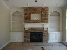 #Fireplace option available at Pine Ridge Homes, Inc. in Illinois