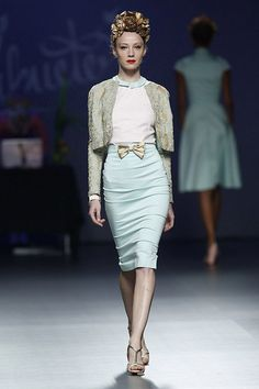 Lady Cacahuete EGO (Mercedes-Benz Fashion Week Madrid primavera-verano 2014)