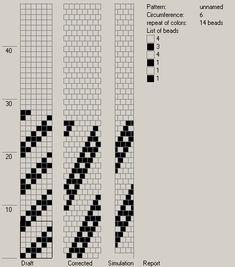 6 around bead crochet rope pattern Bead Crochet Patterns, Bead Crochet Rope, Beaded Jewelry Patterns, Bracelet Patterns, Beading Patterns, Crochet Beaded Bracelets, Seed Bead Bracelets, Bead Earrings, Seed Beads