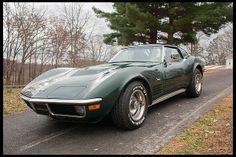 1971 Chevrolet Corvette Coupe 454/365 HP, 4-Speed #Mecum #Harrisburg