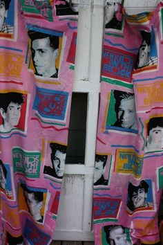 …curtains… | 43 Signs That You Were And Still Are An Obsessed New Kids On The Block Fan