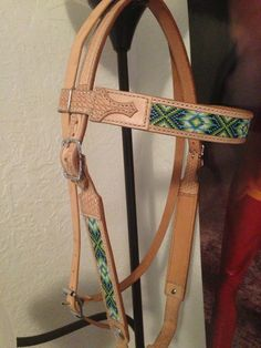 Beaded Horse Bridle