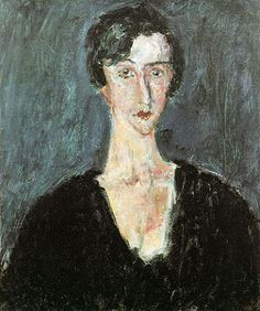 Chaïm Soutine Portrait de Madeleine Castaing 1929