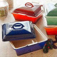 Cutting board and casseroles from Sur la Table!