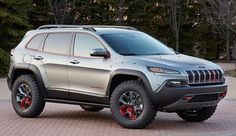 2015 Jeep Cherokee Trailhawk Design