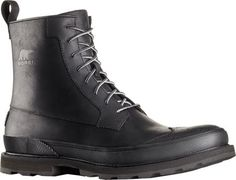 Sorel Mens Madson Wingtip Waterproof BootBlackUS 14 M *** For more information, visit image link.(This is an Amazon affiliate link and I receive a commission for the sales)