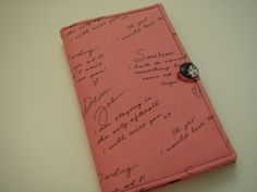 Nook Color Nook Tablet E-Reader Cover Dear John Pink