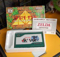 GAME & WATCH ZELDA con caja e instrucciones Boxed