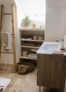 Travertine, Vanity, Shelves, Shower, Bathroom, House, Home Decor, Google, Image