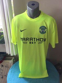 8843f6abc HIBERNIAN 2016 17 Football Shirt Away Soccer Jersey Trikot Camiseta Maillot  XL  Nike