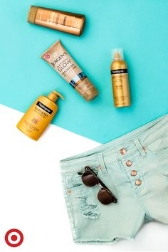 Get ready for shorts weather with self-tanners from Neutrogena and Jergens. You'll have sun-kissed skin in an instant.