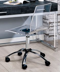Take a look at this Selevi Contemporary Adjustable Office Chair today!