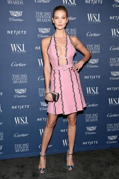 Karlie Kloss in Prada - WSJ. Magazine 2015 Innovator Awards - November 4, 2015 #PradaCelebs