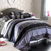 Seventeen® Zebra Darling Comforter Set and Accessories