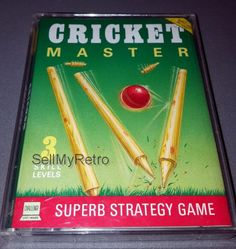 Cricket Master: CONDITION:- GREAT COMPATIBILITY:- ZX SPECTRUM 48K / 128K RANGE FORMAT:- CASSETTE CASE/BOX TYPE:- DOUBLE CASSETTE / JEWEL… Cricket, Management Games, Cassette, Master, Strategy Games, West Midlands, Spectrum, Jewel, Computers