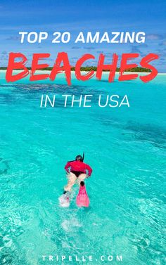 It's time for something new. If you're looking for a fresh beach vacation that you're not going to forget, it's time to choose an all-new location. We've put together a list of the absolute top twenty beaches in the USA. Use this guide as you plan your ultimate beach vacation.