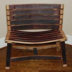 Barrel Bench | Katy Barrel Company