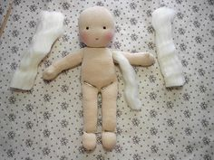 DIY Waldorf Doll Tutorial in Pictures