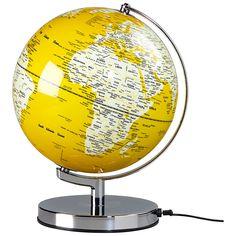 "Wild & Wolf Light Up 10"" Globe, English Mustard"