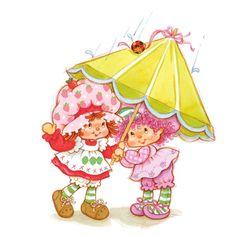♥ Emily Erdbeer & Friends ♥ Little Twin Stars, Cute Little Girls, Cute Kids, My Little Pony, Strawberry Shortcake Characters, Vintage Strawberry Shortcake, Sweet Memories, Childhood Memories, Vintage Toys 80s