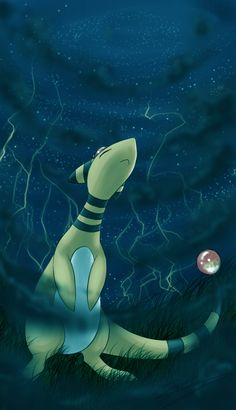 stargazer by ~Rukaria on deviantART (Ampharos)