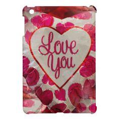 Love love iPad mini case - Saint Valentine's Day gift idea couple love girlfriend boyfriend design