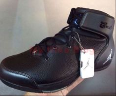 A Detailed Information About Nike Shoes Jordan Melo 1.5 in Black Leather