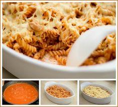 Rádi jíme - aneb vaření a pečení u nás doma - Rajčatovo-smetanové těstoviny s kuřetem - Album uživatelky zzuzziik - Foto 268
