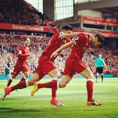Lallana Makes A Score on Last Match Season 2016/2017 Against  Middlesbrough.