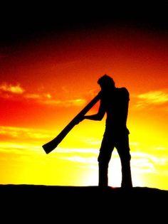 Discover the Delightful Didgeridoo Aboriginal Culture, Aboriginal People, Aboriginal Art, Music Silhouette, Pics For Dp, Didgeridoo, Joan Baez, Joe Cocker, Janis Joplin