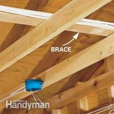 Frustrated by too few outlets in your garage? Lighting that's too dim? Or maybe you just want to install a garage door opener and need a nearby plug-in. Garage Floor Paint, Garage Walls, Garage Doors, Garage Flooring, Garage Organization, Garage Storage, Garage Racking, Organization Ideas, Tool Storage