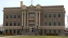 Clay County Courthouse in Nebraska.