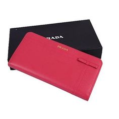 f8e611e1a6 Authentic Vintage Prada Saffiano Fiocco Wallet,Free Shipping,Prada fiocco  Wallet,Italian Luxury