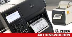 BESSERDRUCKEN: ZEBRA Etikettendrucker Aktions-Wochen  Bei ADES AG... Epson, Printer, Printing, Printers