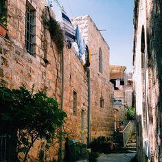 The backstreets of Ein Karem, Israel  #backstreets #Israel #travel