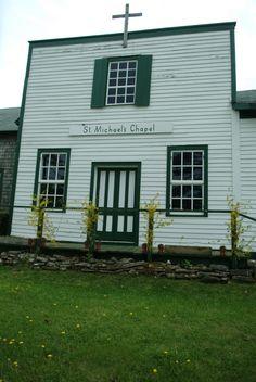 St. Michael's Chapel, Washington Island, WI. Where I married my best friend