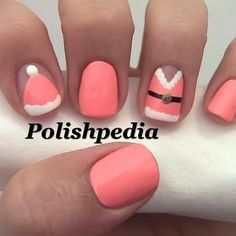 polishpedia christmas nails - Google Search