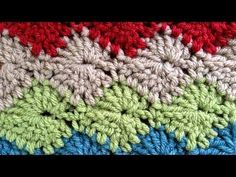 Catherine Wheel Crochet Stitch Part 1 of 2 PA656 - YouTube