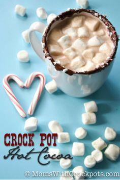 Super easy and super amazing Crock Pot Hot Cocoa Recipe