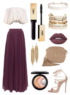 """Rydel tea party 2016"" by kaylabaileey on Polyvore featuring Halston Heritage, Humble Chic, Panacea, Lime Crime, MAC Cosmetics, Dsquared2, Yves Saint Laurent and Capwell + Co"