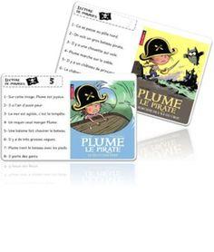Atelier Lecture de phrases - Les Pirates.Pour une présentation d extraits de livres.