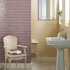 Laura Ashley Artisan Amethyst Gloss Wall Tiles - 150x75mm - LA51553 - Luxury Tiles