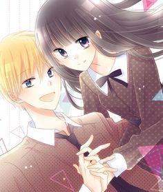 Last game 💛🖤 Manga Love, Anime Love, Last Game Manga, Manga Couple, Cocoppa Play, Digimon, Shoujo, Anime Couples, Anime Manga